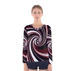 Decorative twist Women s Long Sleeve Tee