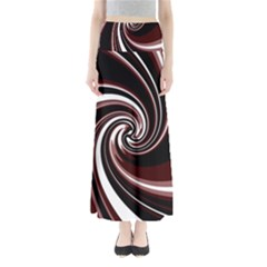 Decorative twist Maxi Skirts