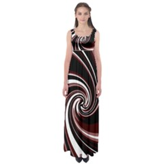 Decorative twist Empire Waist Maxi Dress