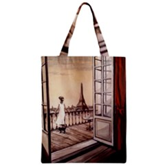 Paws For Thought  Copy Zipper Classic Tote Bag
