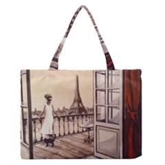 Paws For Thought  Copy Medium Zipper Tote Bag