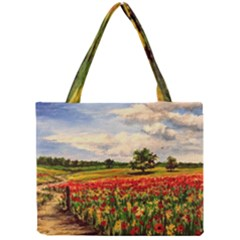 Poppies Mini Tote Bag