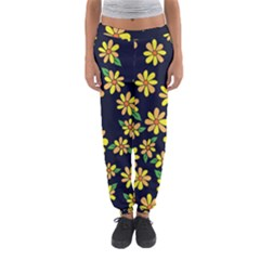 Daisy Flower Pattern For Summer Women s Jogger Sweatpants