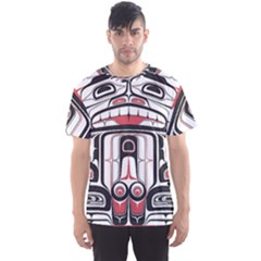 Ethnic Traditional Art Men s Sport Mesh Tee