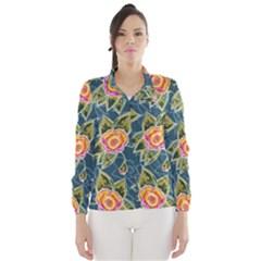 Floral Fantsy Pattern Wind Breaker (women)