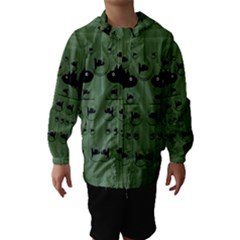 Pescado Fish Con Pasta And Baby Fishes Hooded Wind Breaker (Kids)