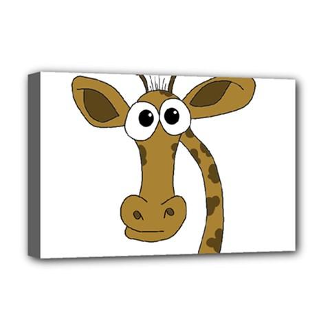 Giraffe  Deluxe Canvas 18  x 12