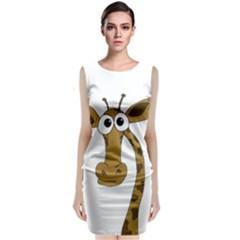 Giraffe  Classic Sleeveless Midi Dress