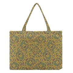 Modern Abstract Ornate Pattern Medium Tote Bag