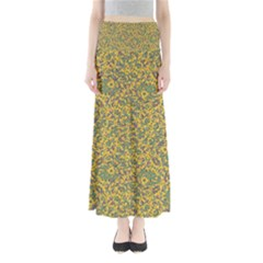 Modern Abstract Ornate Maxi Skirts