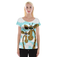 Just The Two Of Us Women s Cap Sleeve Top