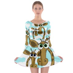 Just the two of us Long Sleeve Skater Dress