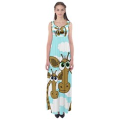 Just the two of us Empire Waist Maxi Dress