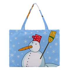 Snowman Medium Tote Bag