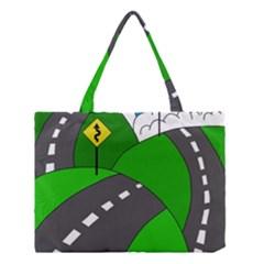 Hit the road Medium Tote Bag