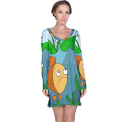 Are you lonesome tonight Long Sleeve Nightdress