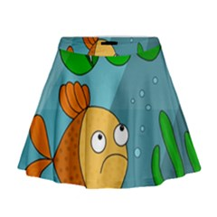 Are you lonesome tonight Mini Flare Skirt
