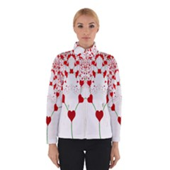 Heart Plant Fractal Tree Winterwear