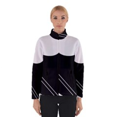 White and black abstraction Winterwear