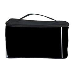 White and black 2 Cosmetic Storage Case