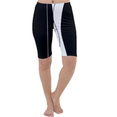 White and black 2 Cropped Leggings