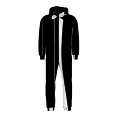 White and black 2 Hooded Jumpsuit (Kids)