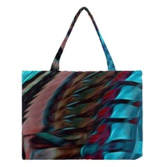 Abstract Background Lines Art Medium Tote Bag