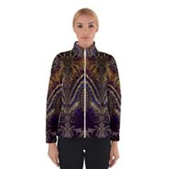 Abstract Fractal Pattern Winterwear