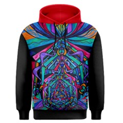 Pleiadian  coherence  Lightwork Model   Men s Pullover Hoodie