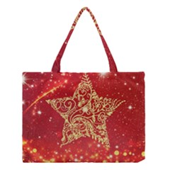 Background Star Medium Tote Bag