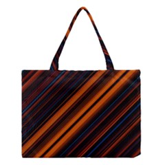 Background Pattern Lines Medium Tote Bag