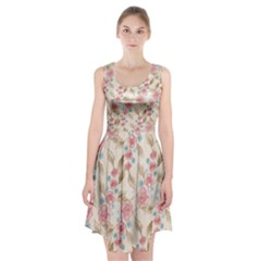 Background Page Template Floral  Racerback Midi Dress