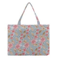 Background Page Template Floral 2 Medium Tote Bag