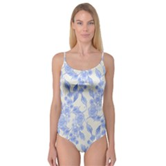 Background Page Template Floral Camisole Leotard