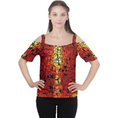 Board Conductors Circuits Women s Cutout Shoulder Tee