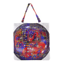 Board Ball About Head Board Grocery Tote Bag