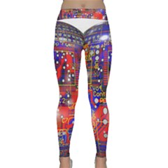 Board Ball About Head Board Yoga Leggings