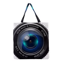 Camera Lens Prime Lens Photography Grocery Tote Bag