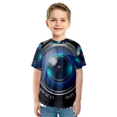 Camera Lens Prime Lens Photography Kids  Sport Mesh Tee