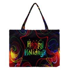 Christmas Greeting Desire Medium Tote Bag