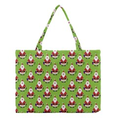 Christmas Santa Santa Claus Medium Tote Bag