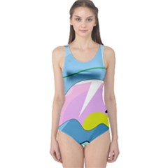 Under the sea One Piece Swimsuit