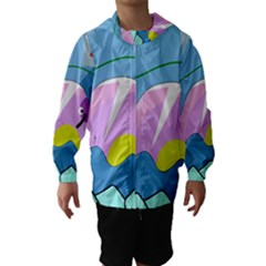 Under the sea Hooded Wind Breaker (Kids)