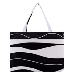Black light Medium Tote Bag