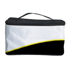 Yellow, black and white Cosmetic Storage Case
