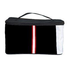 White, red and black Cosmetic Storage Case