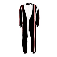 White, red and black OnePiece Jumpsuit (Kids)