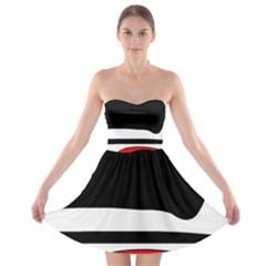 Fantasy Strapless Bra Top Dress