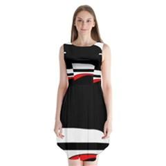 Fantasy Sleeveless Chiffon Dress