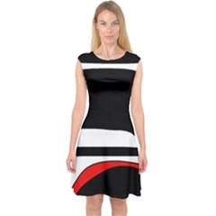 Fantasy Capsleeve Midi Dress